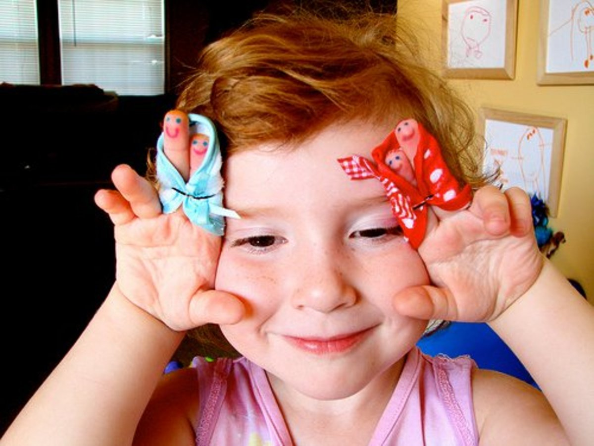Finger puppets are a great option for a story retelling.