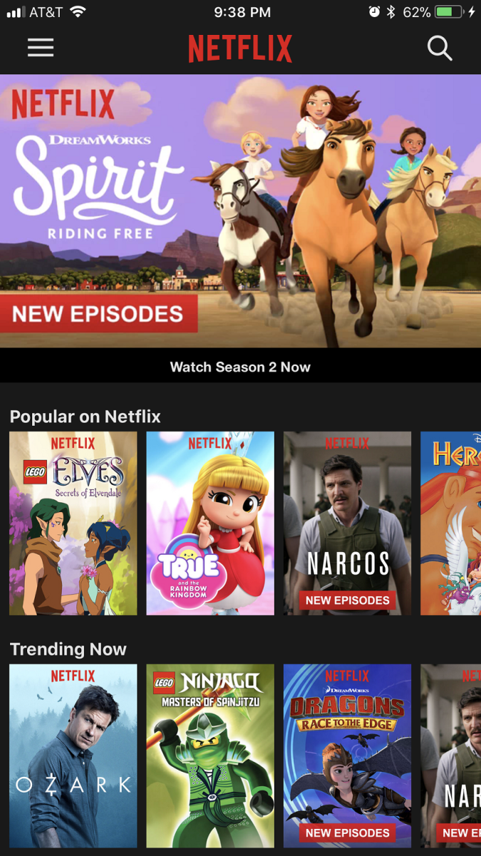 """Launch Netflix on your smart device or through a Web browser. Log in to the service, if prompted. Click the """"Menu"""" icon in the upper left corner of the app."""