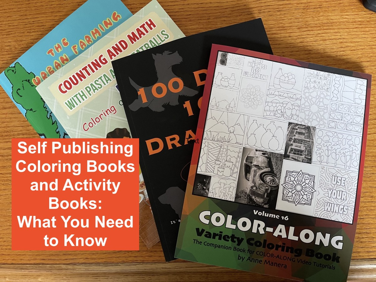 Self Publishing Coloring Books and Activity Books: What You Need to Know
