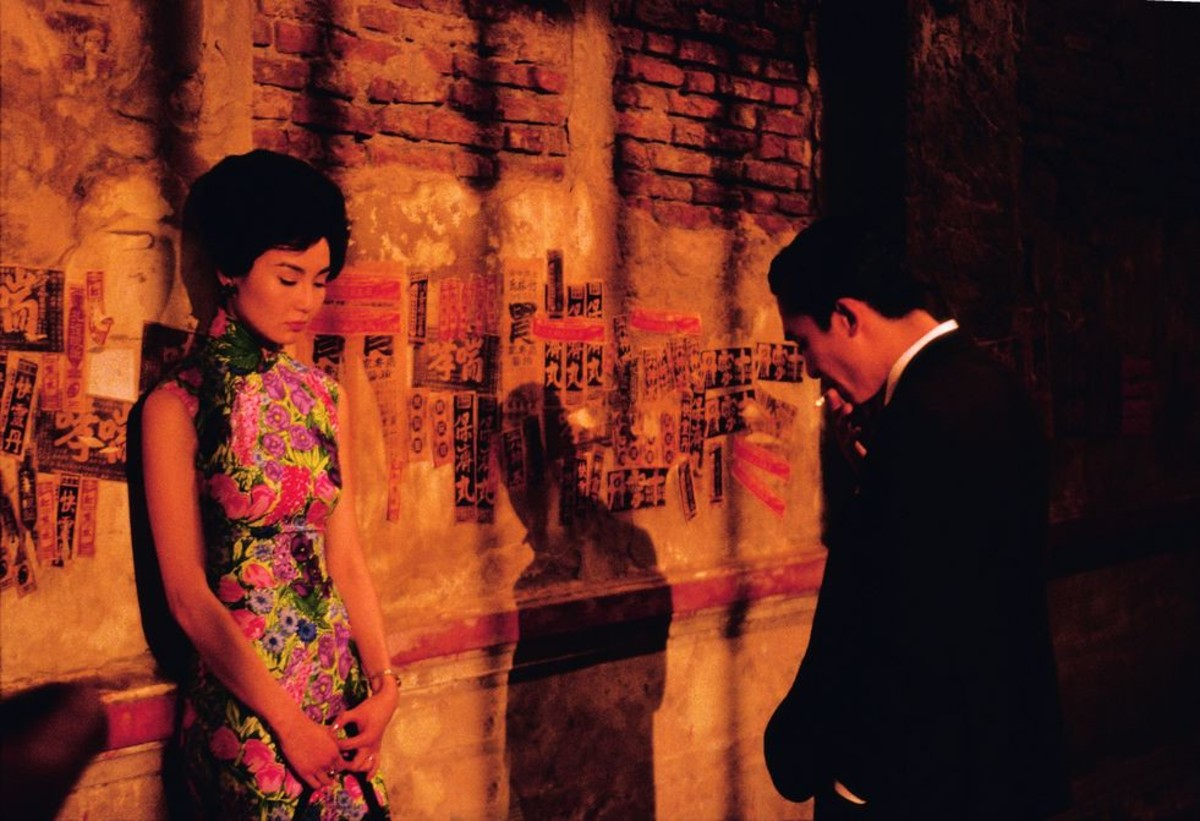 In the Mood for love is a beautiful film with a bittersweet plot. It as if the movie is a poem brought to life verse by verse.
