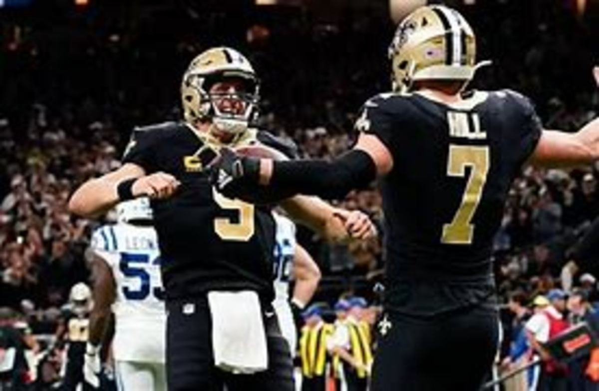 Taysom Hill did enough to keep the Saints afloat. Now that Brees is back they will make another playoff push.