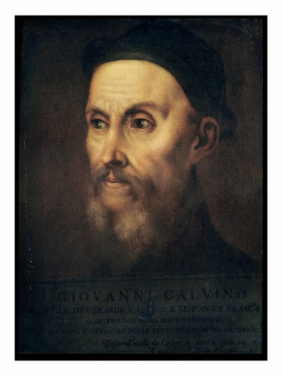 JOHN CALVIN AS PAINTED BY TITIAN