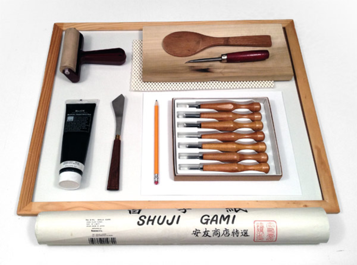 Tools Used for Fabric Block Printing.