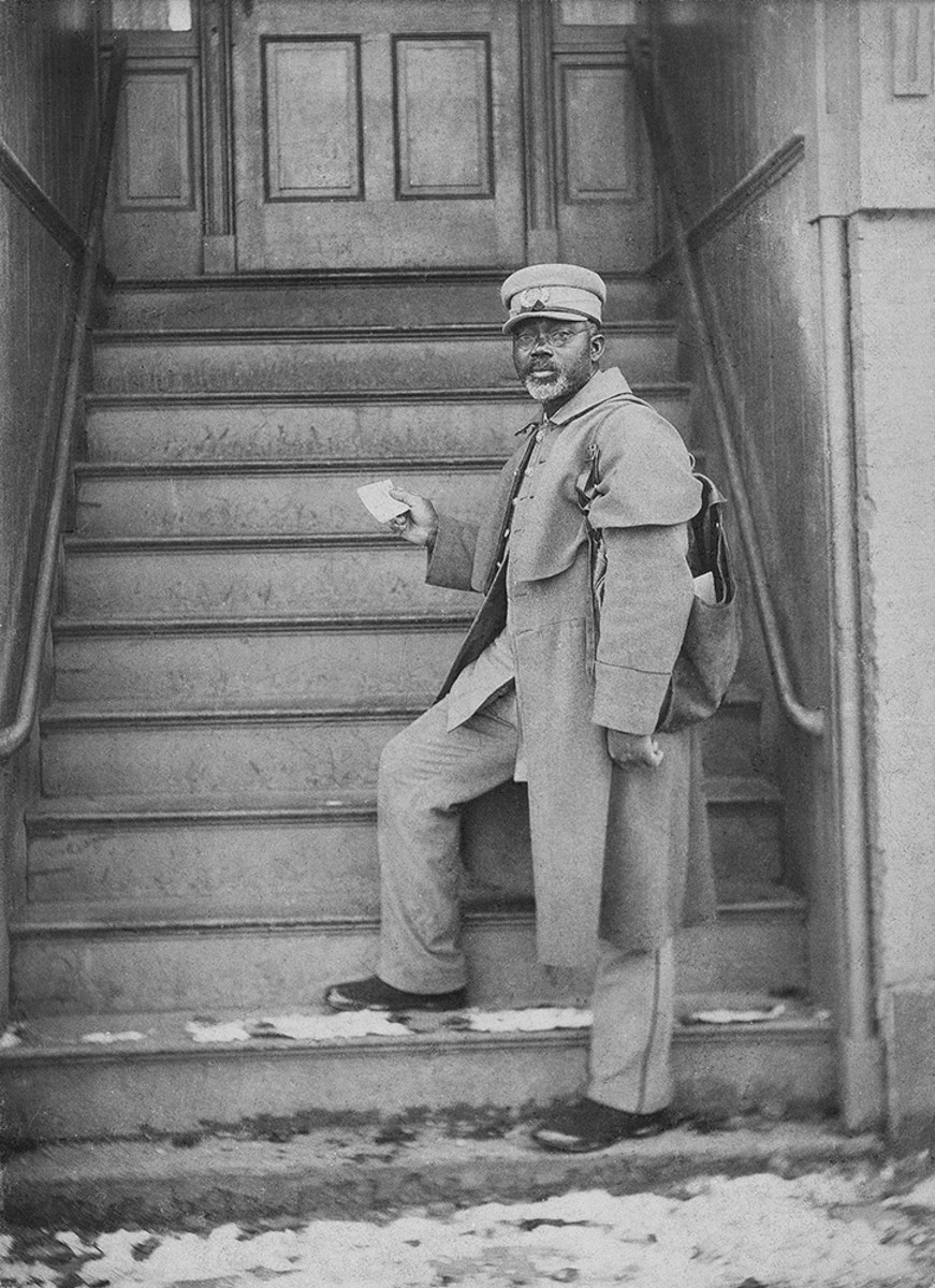William Carney Delivering Mail