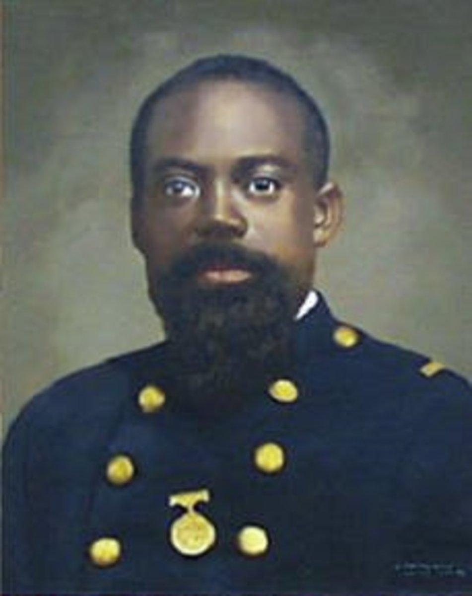Sergeant William Carney in Uniform