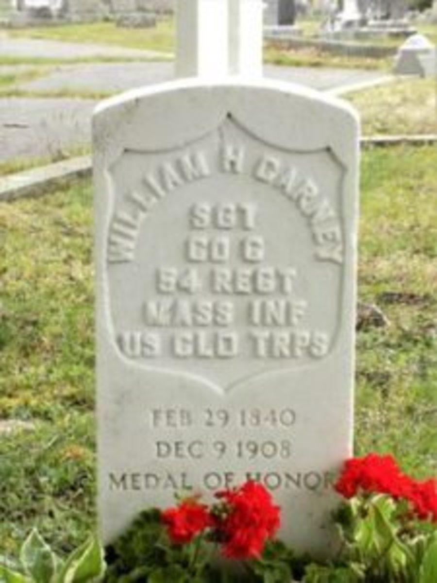 William Carney Grave Marker