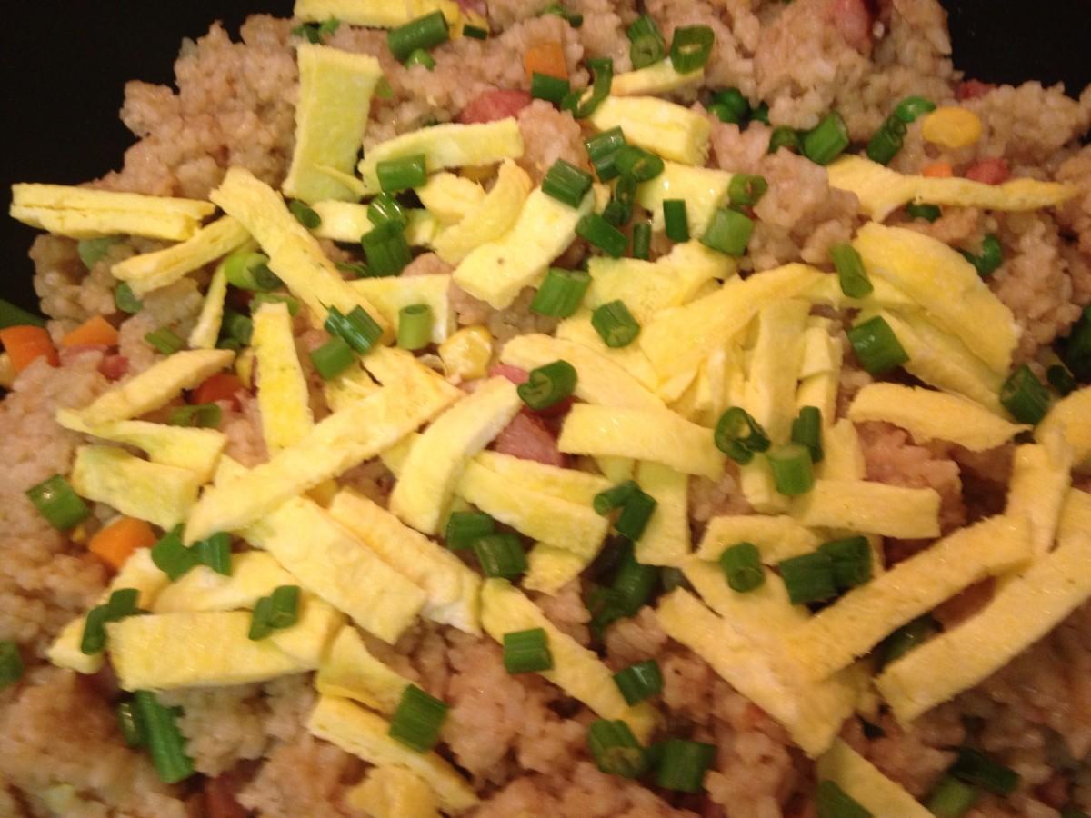 Hawaiian Style Fried Rice Recipe