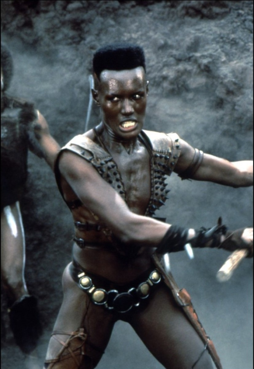 Grace Jones in Conan, the Destroyer