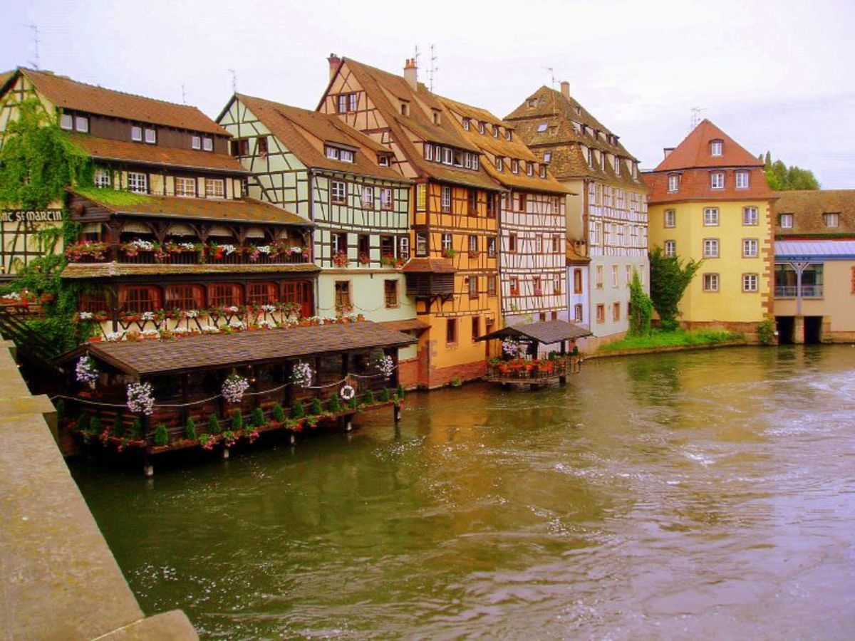 Strasbourg, on the border of France and Germany, is one of many beautiful and unique places to live in France.