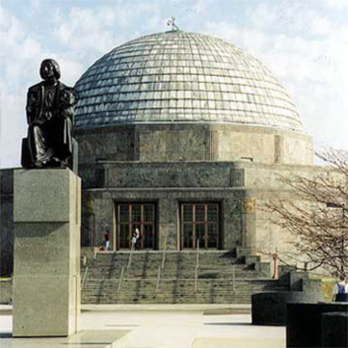 Adler Planetarium offers an age 21+ event every third Thursday where visitors can enjoy cocktails along with views of the Chicago skyline.