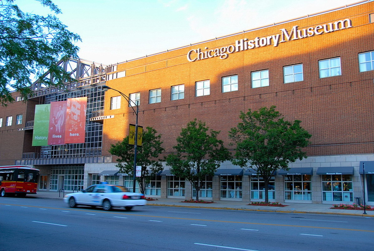 The Chicago History Museum showcases many important pieces of Chicago and US history.