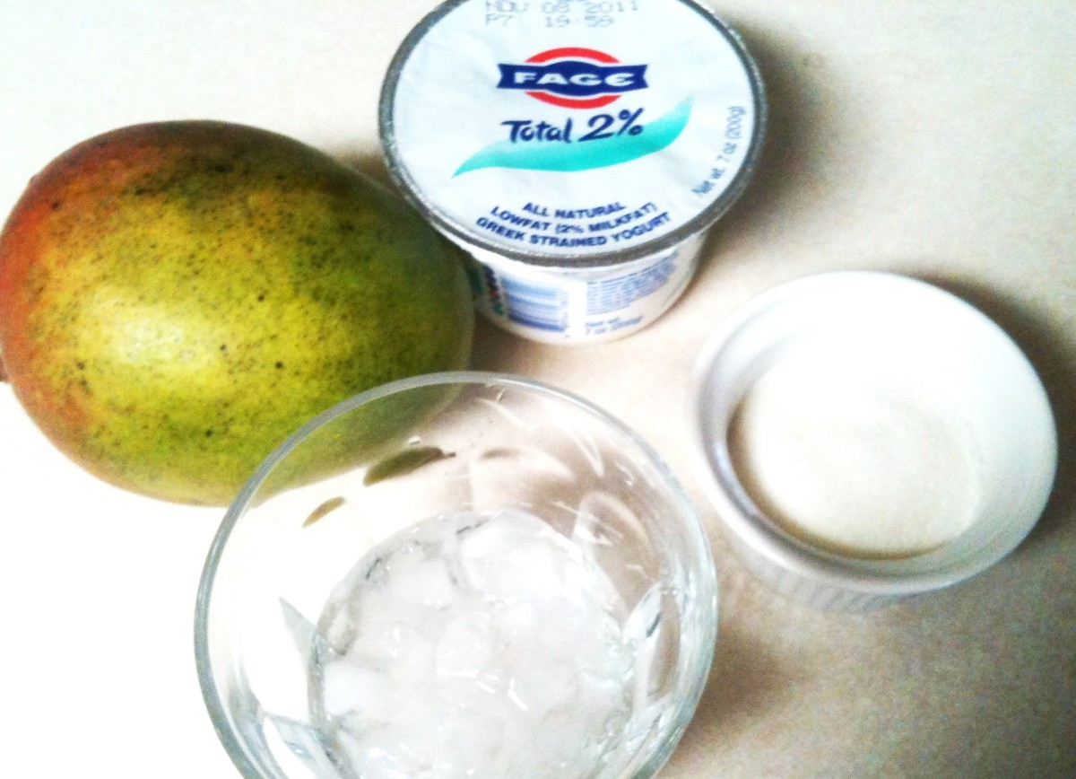 This is all you need to make this awesome drink!