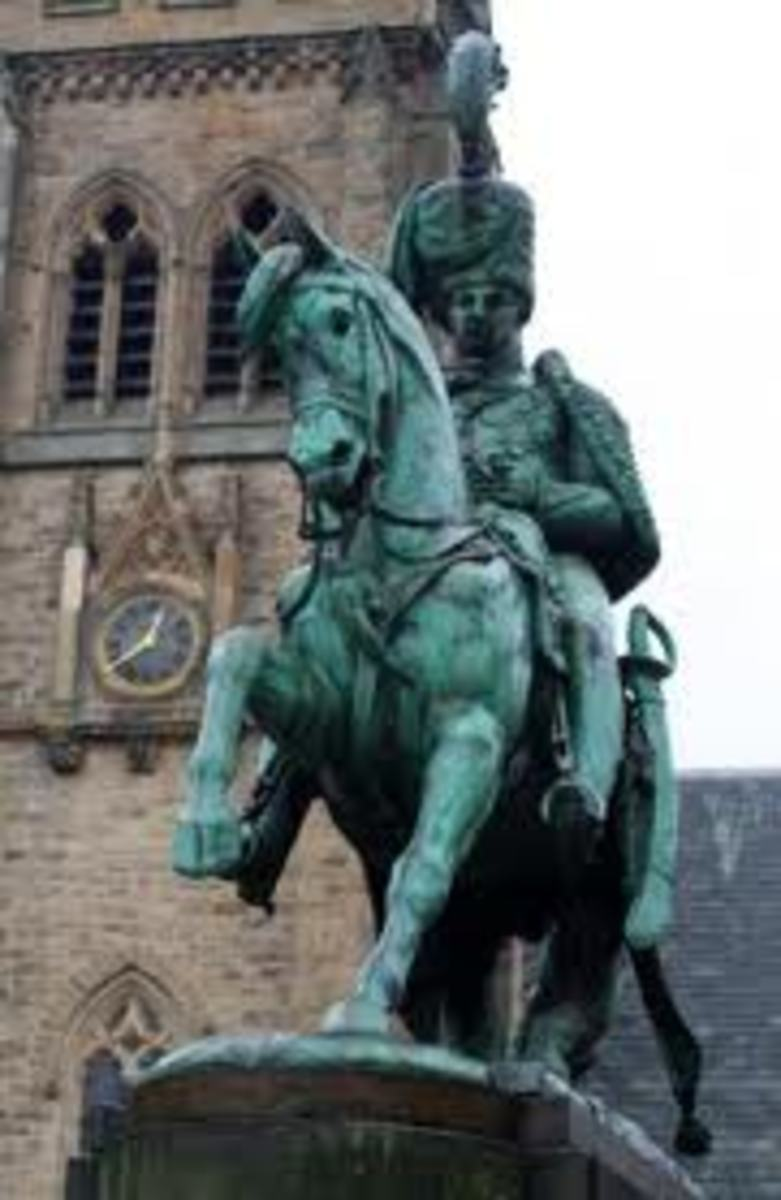 The Londondery statue