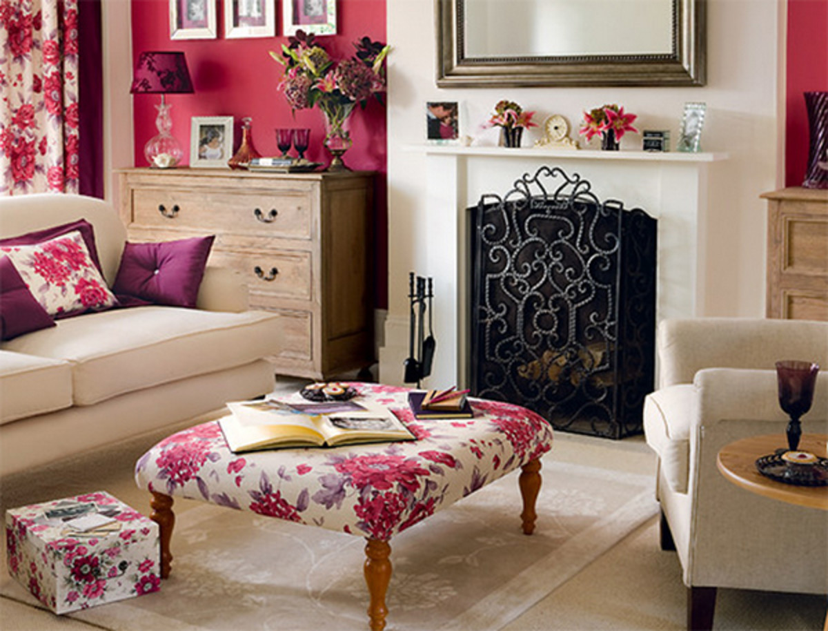 A Chinese Zodiac Rabbit living room looks lovely with a mix of pink and black. The room should look spacious, wooden, and spring-like. Flowers make all the difference.