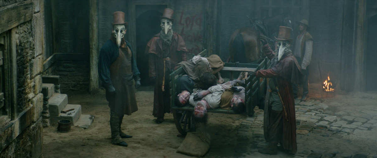 We're definitely not going to use these corpses as marionette puppets.