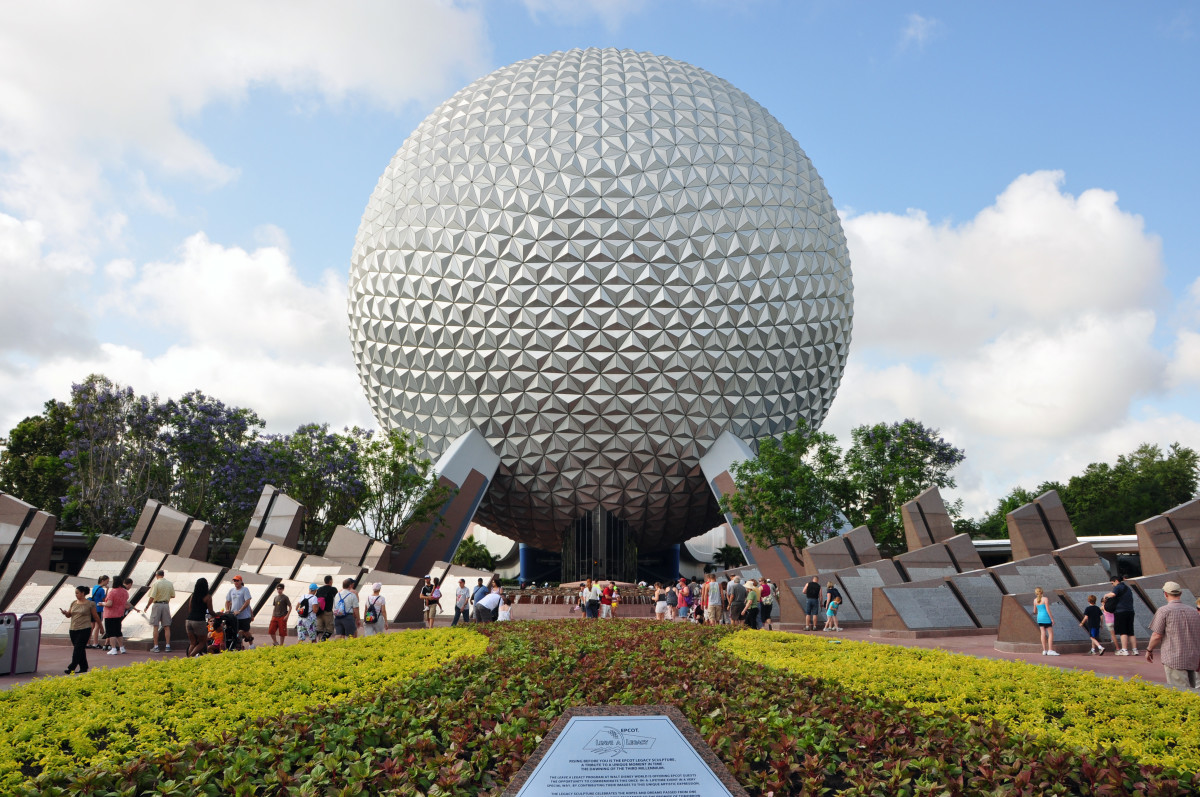 Spaceship Earth is an icon of innovation—a testament to mankind's creativity.