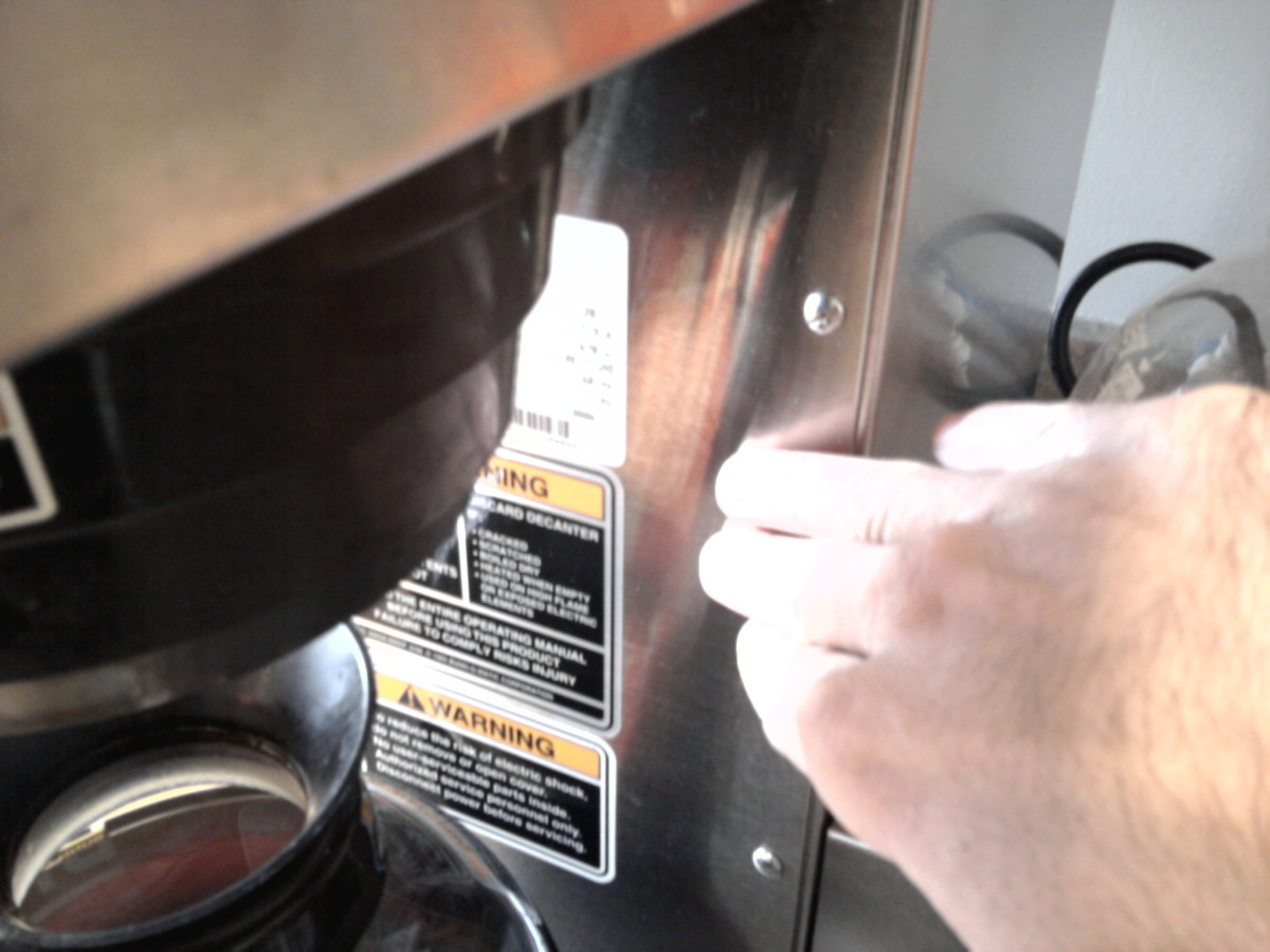 Bunn Coffee Maker Keeps Overflowing : How to Keep Bunn Coffee Maker Pot From Overflowing or Not Filling Up Far Enough by Adjusting the ...