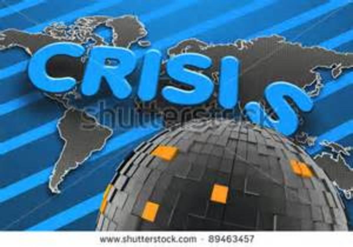 What monstrous shape has this crisis taken?