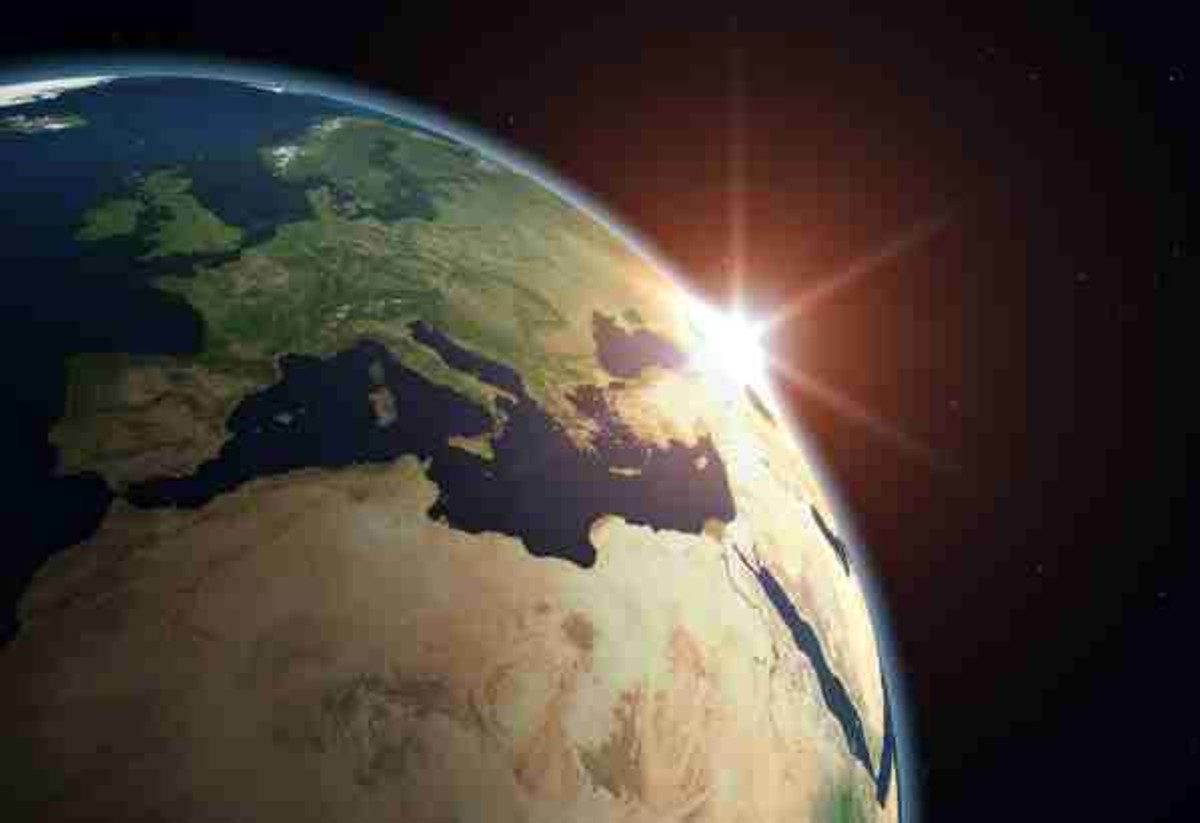 It has been  theorized that the true age of the earth is about 4.6 billion years old, which was  formed at about the same time as the rest of what composes our solar system.