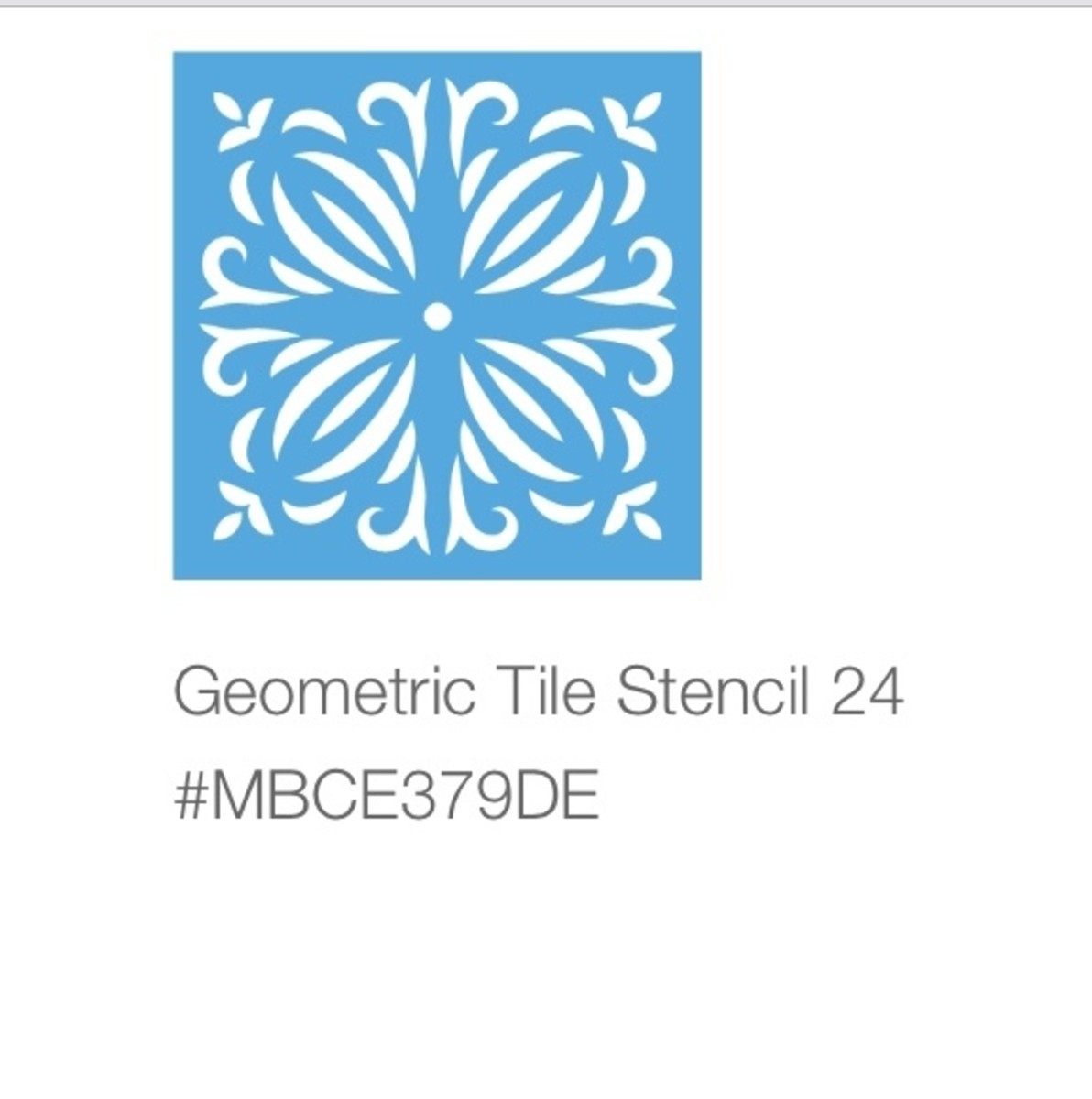 This is the tile pattern I used for my project.  It is available in Cricut design space.