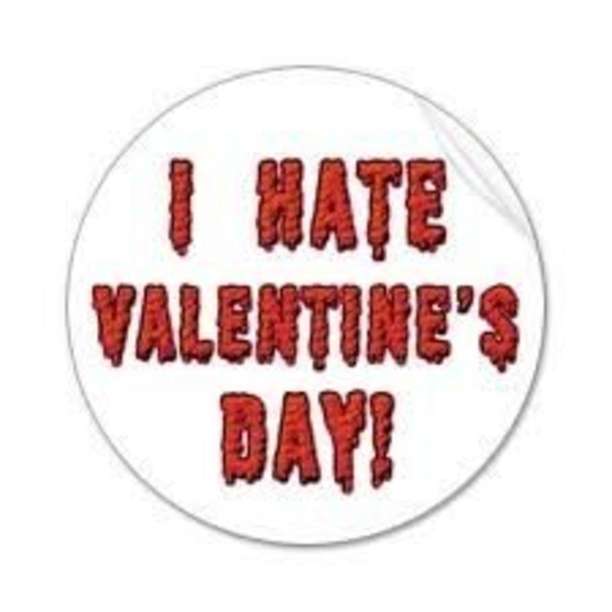anti-valentines day, anti-valentines day party, i hate valentines day, single for valentines day