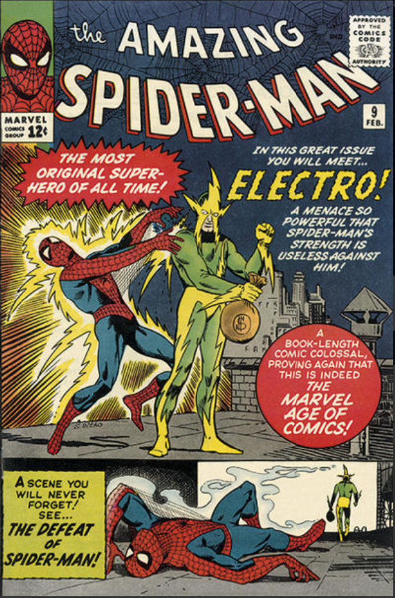 Potential Electro Movie Spikes Interest In Early Spider-Man Comic Book