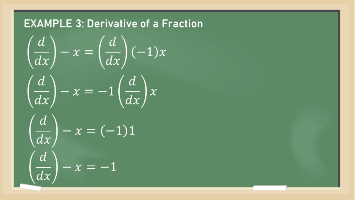 Constant Multiple Rule: Derivative of a Fraction