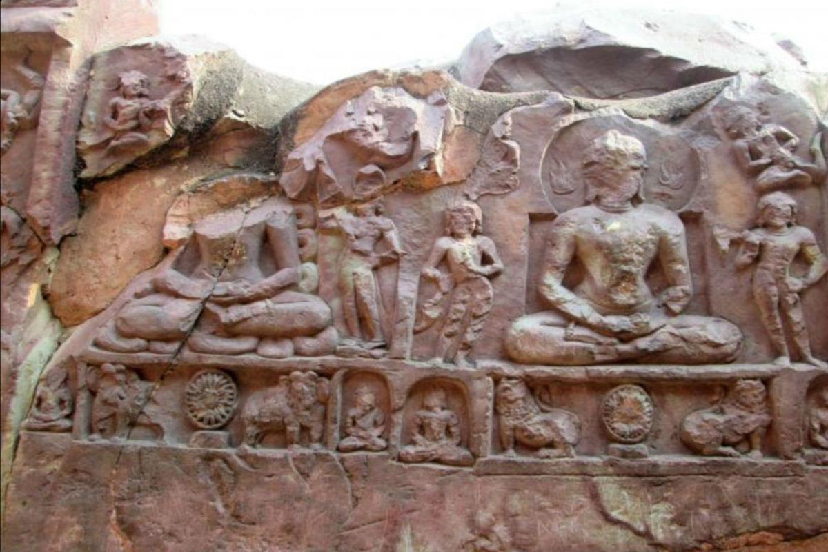 The Son Bhandar caves, also Sonebhandar,