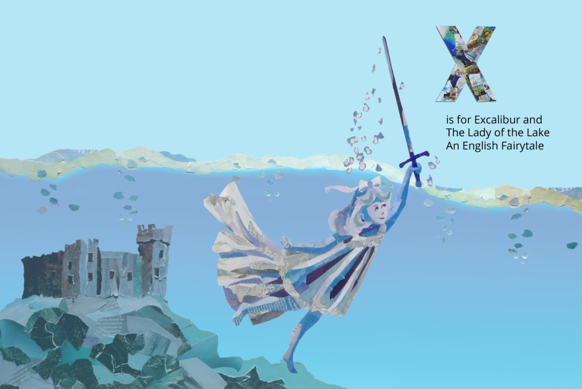 Excalibur and the Lady of the Lake, An English Fairy Tale