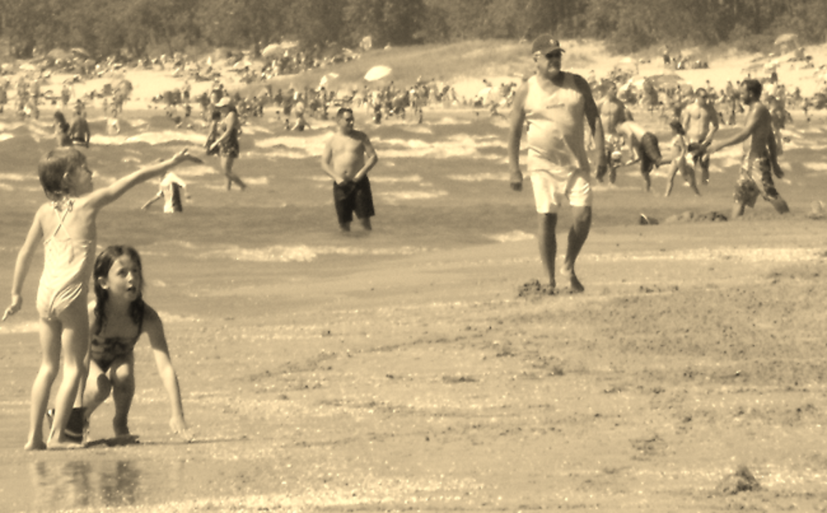 Used a sepia filter on a picture I took to make it look like  a vintage photograph.