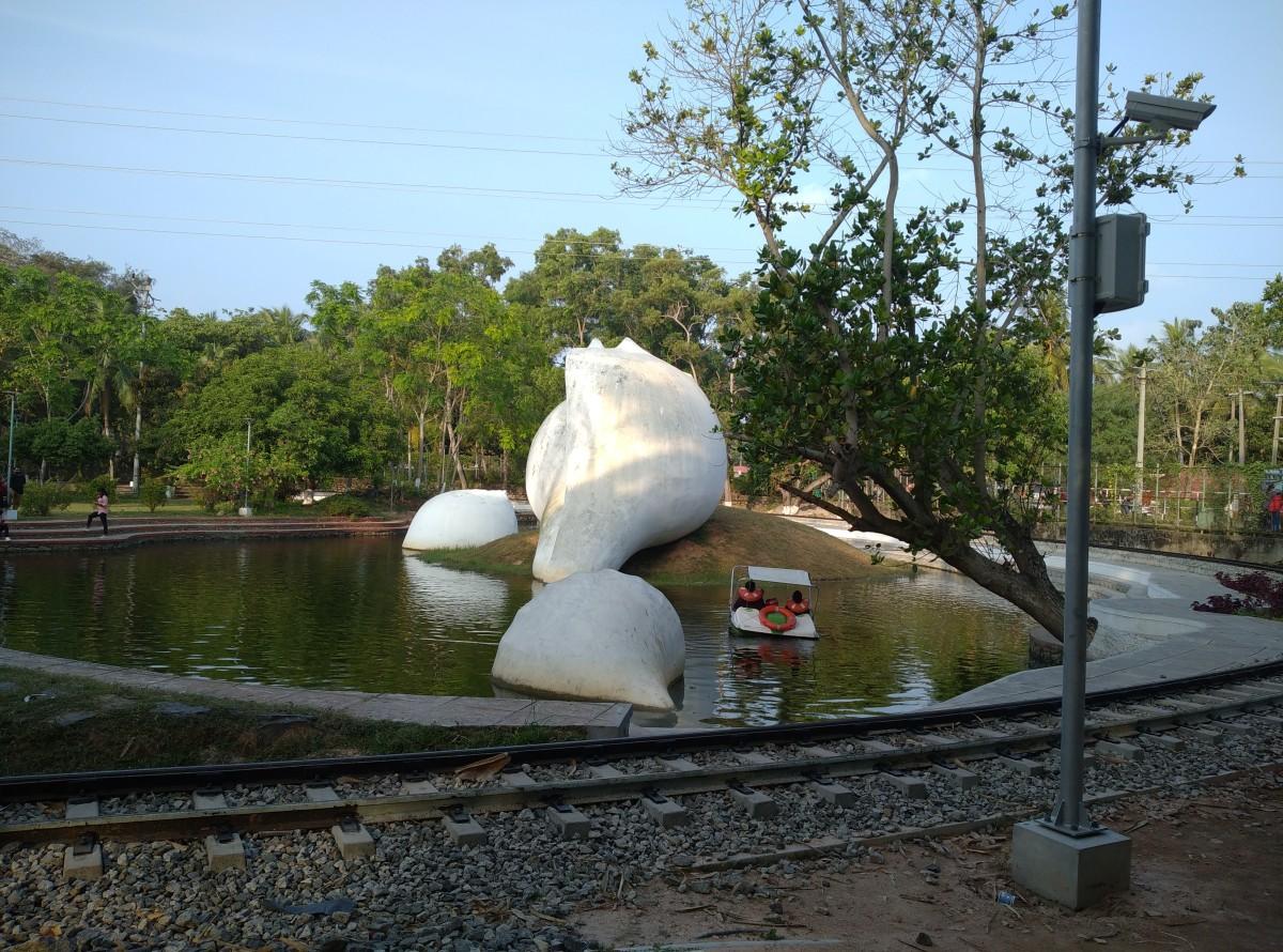Sculpture in Veli Tourist Village