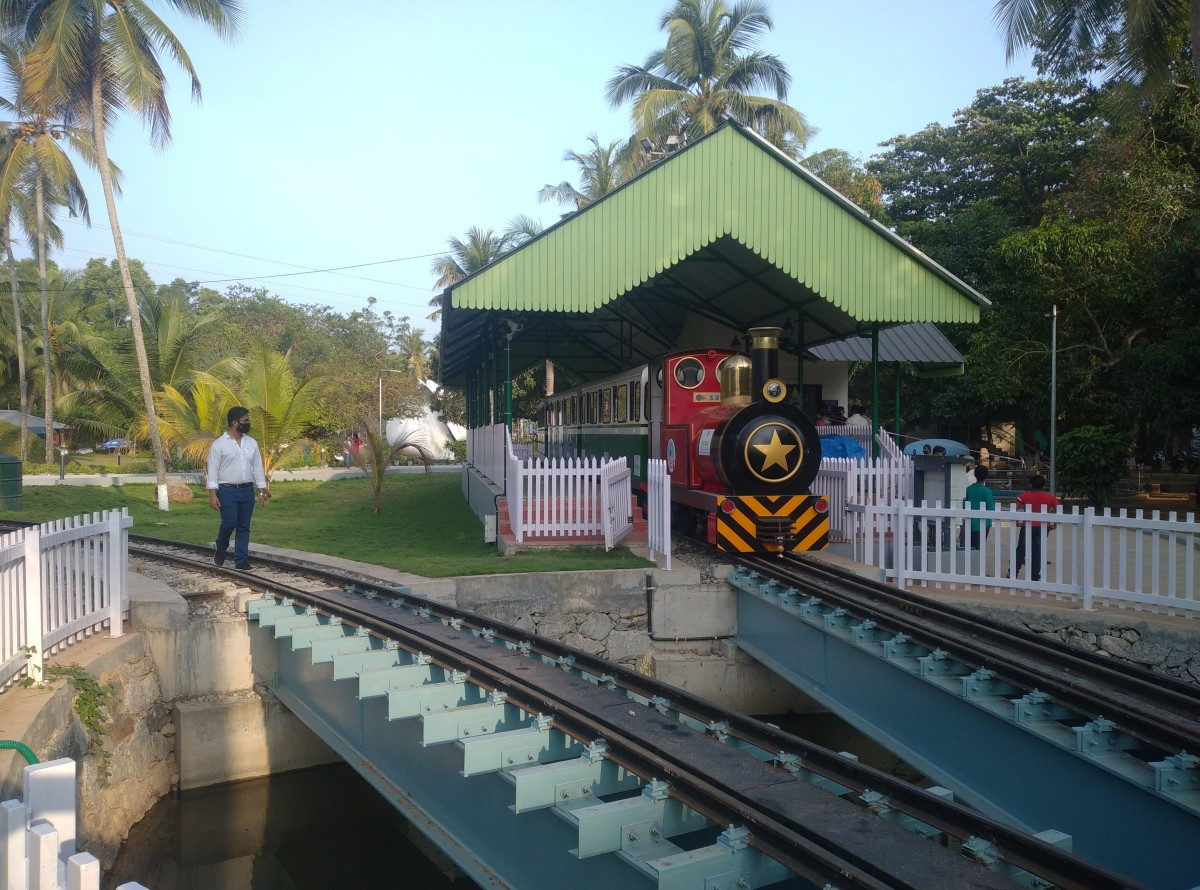 Miniature Train By IRCTC