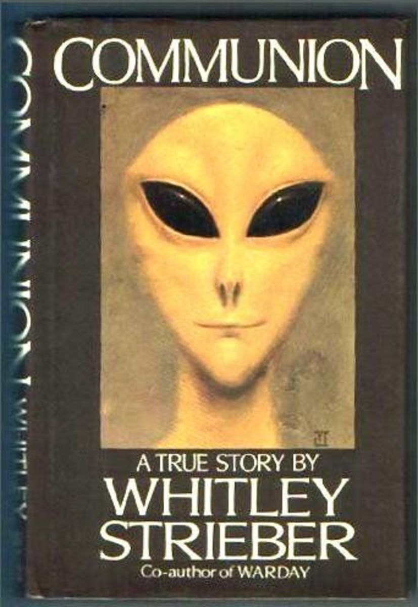 The Gray Alien, as portrayed in a popular novel.