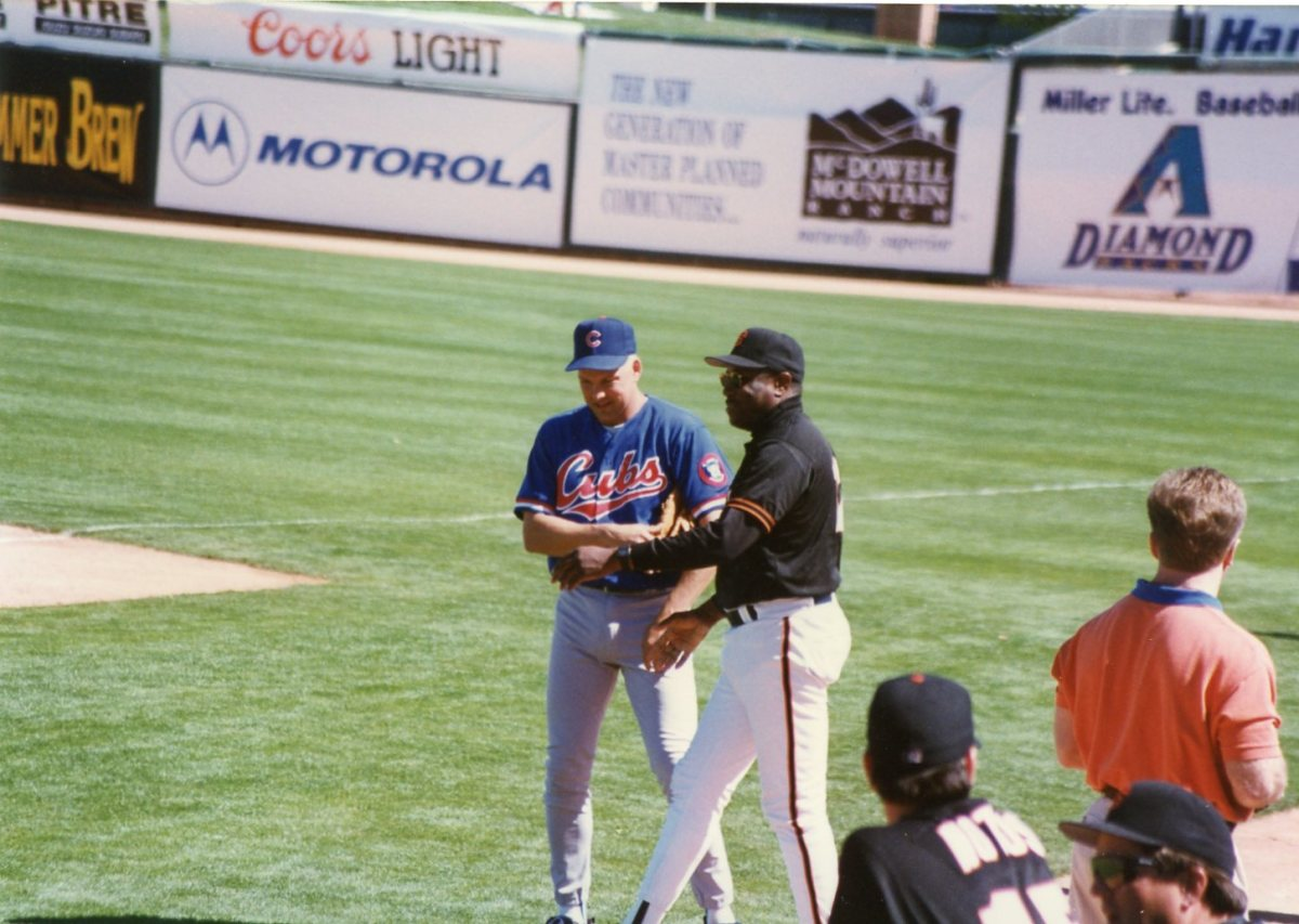 Mark Grace and Dusty