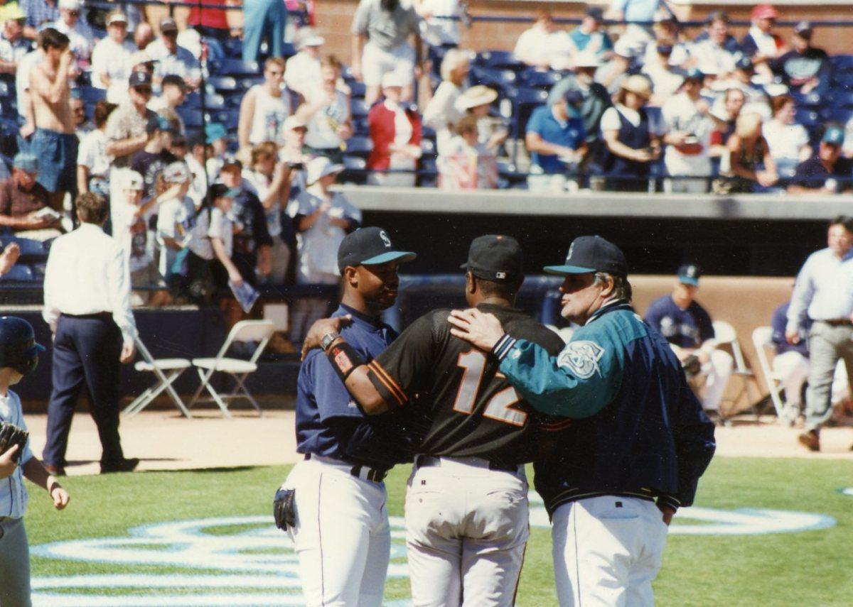 Ken Griffey Jr., Dusty and Lou Piniella