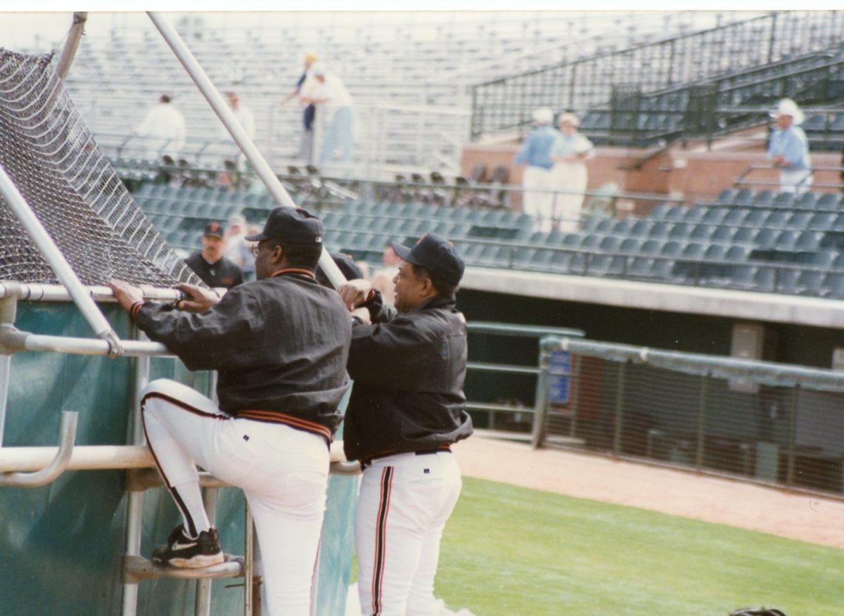 Bobby Bonds and Willie Mays