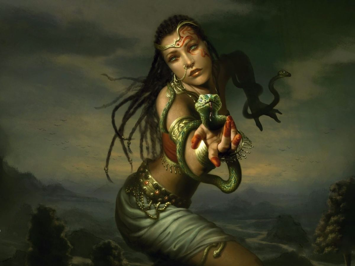 The Deadly Lives of the Ancient Indian Poison Girls