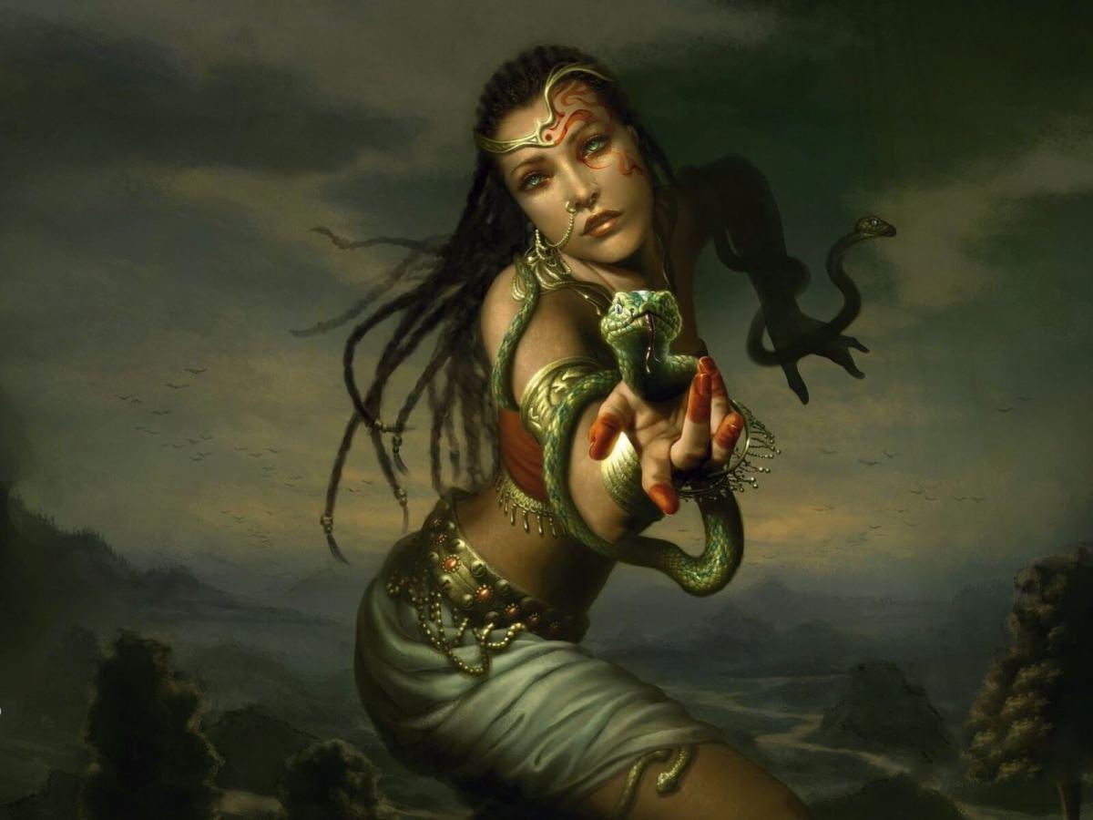 The Vishkanya or poison damsel