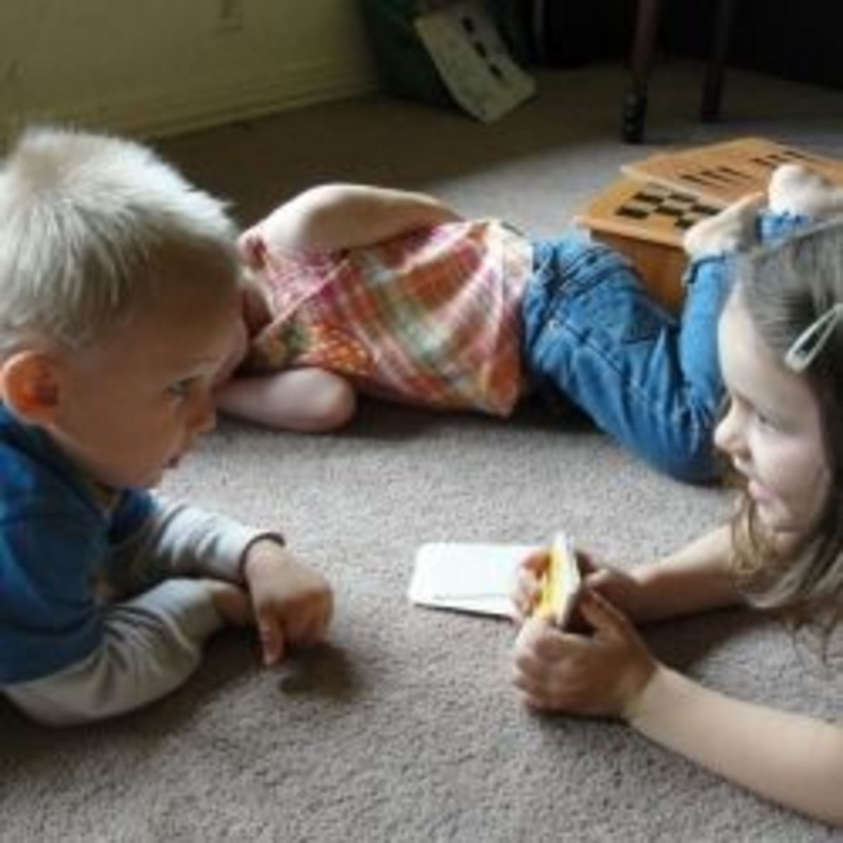 Alphabet Time With Toddler