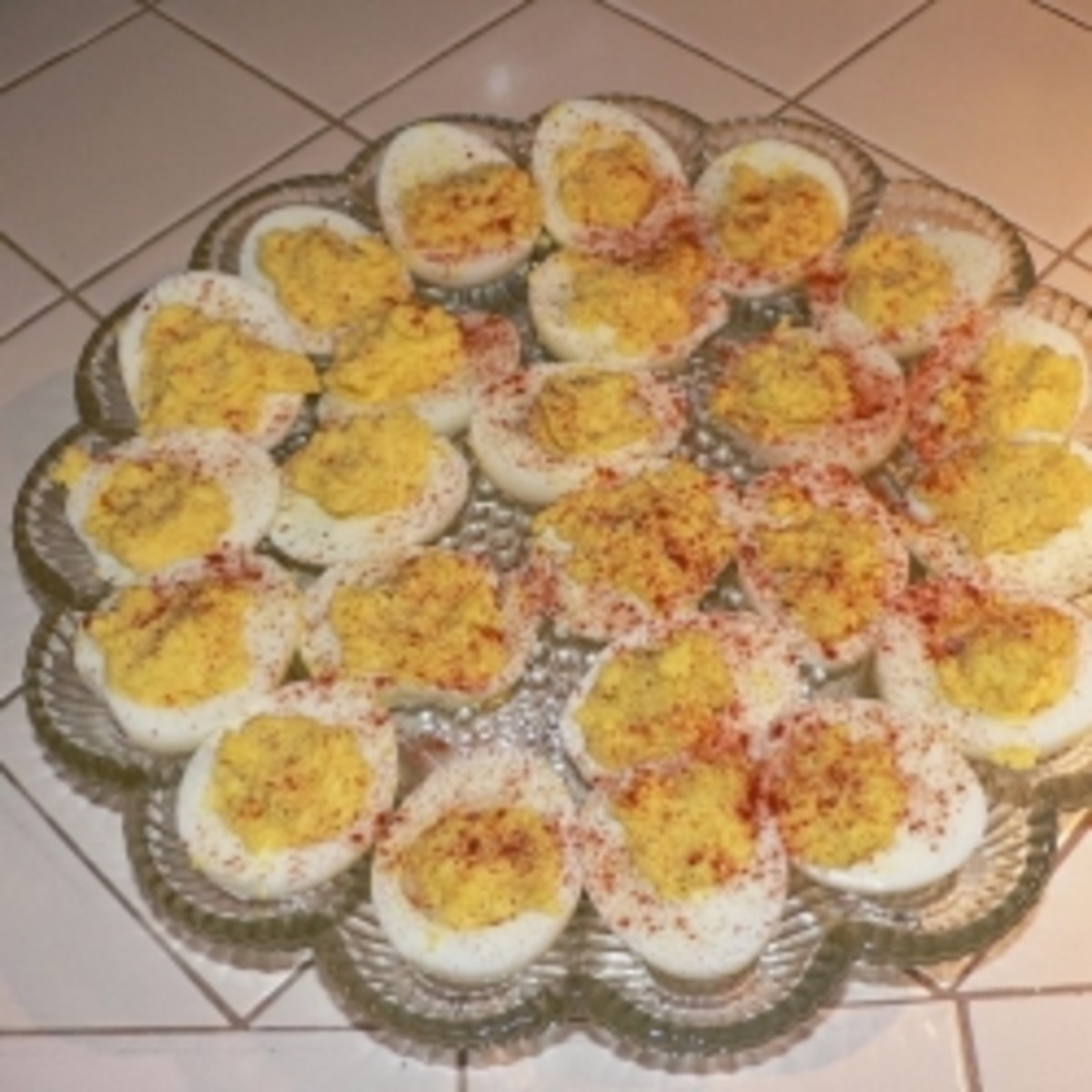 A Recipe for Stuffed Eggs, Tasha Tudor Style