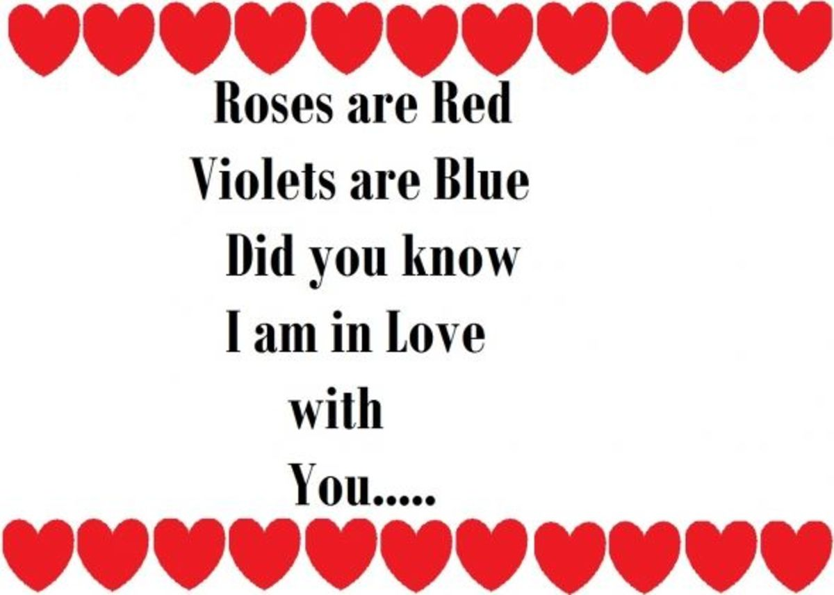 Valentine cards for kids- Valentines Poem