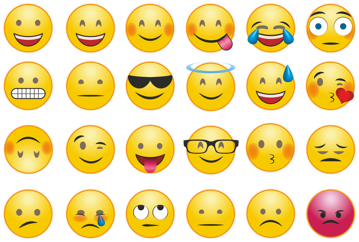 The popular internet emojis