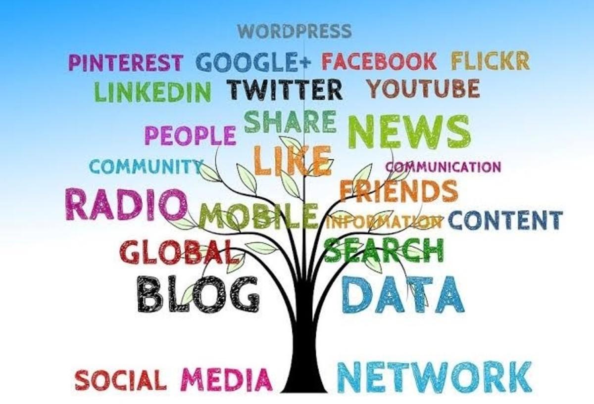 The online community via the social media platform
