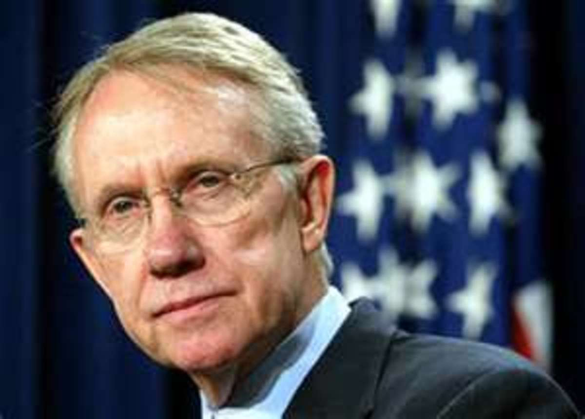Majority Leader Senator Harry Reid