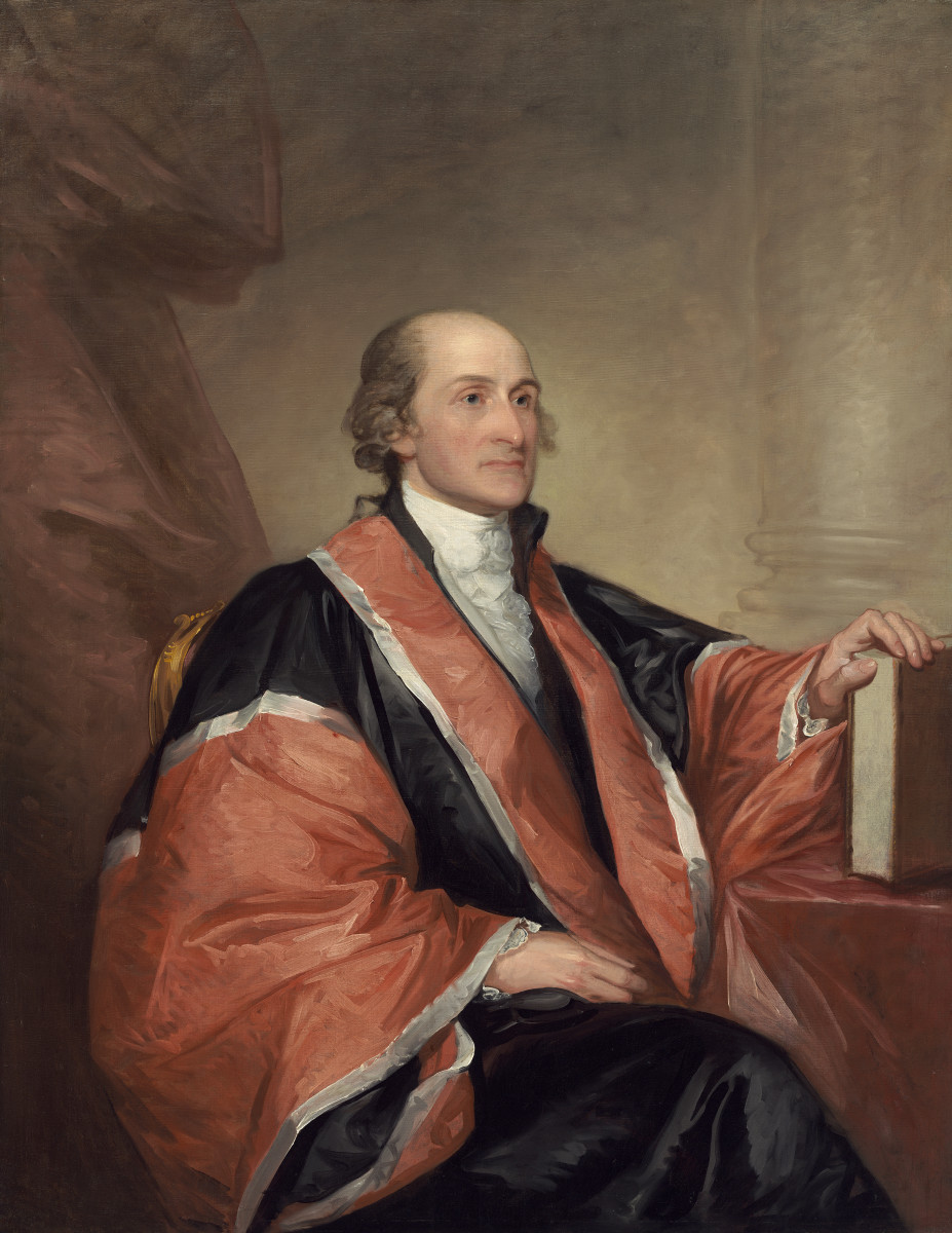 John Jay another one of the main authors of the Federalist Papers