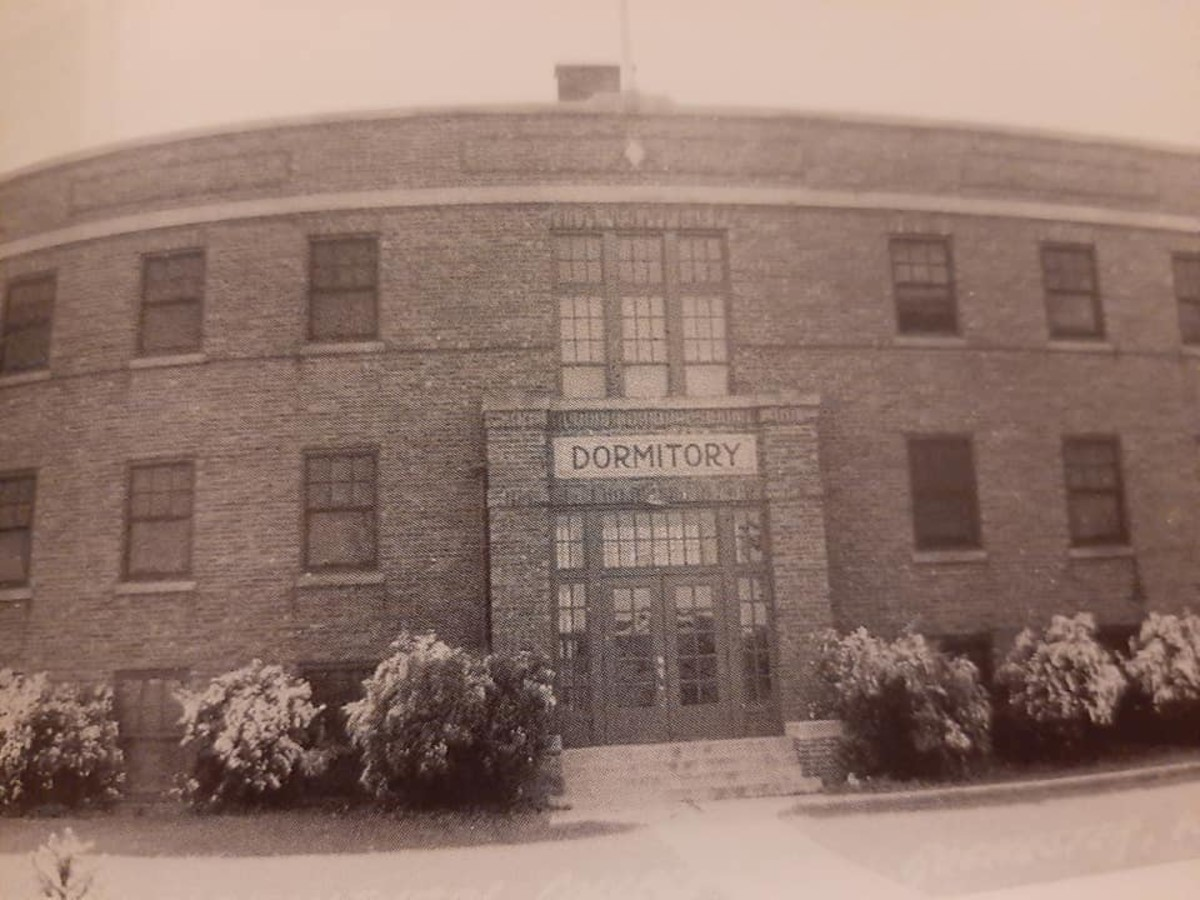 Dormitory of the Racine County Agricultural School at Rochester