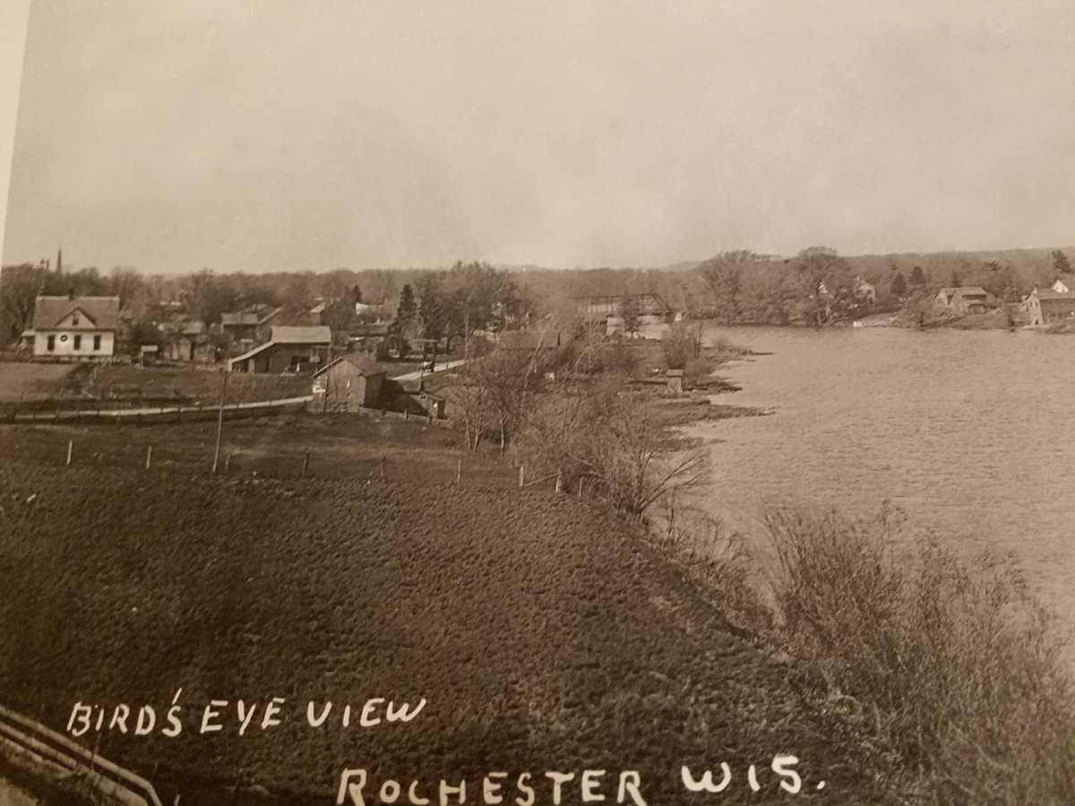 Rochester, Wisconsin circa 1920