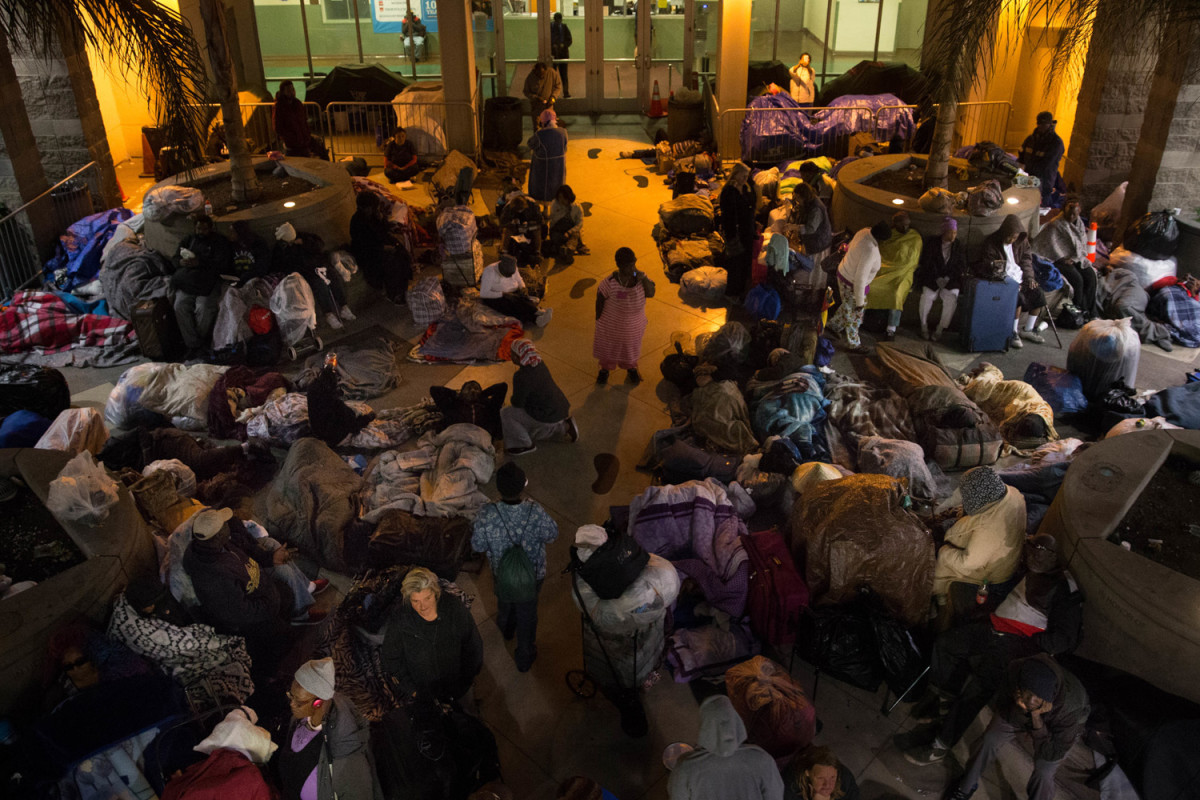 Homeless Shelter in San Francisco
