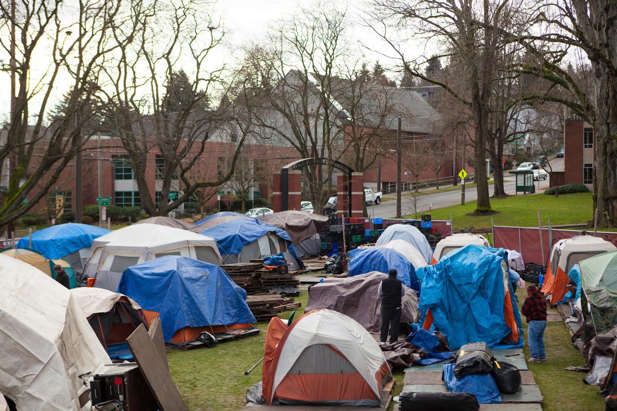 Homeless in Seattle
