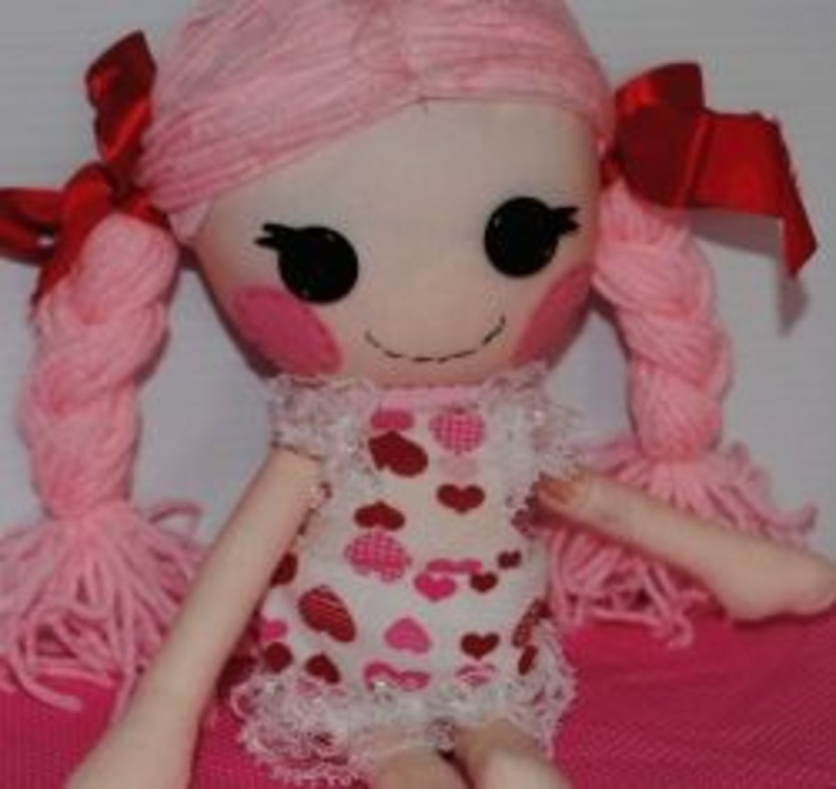 How to make a Lalaloopsy Rag Doll